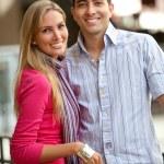 Happy shopping couple — Stock Photo #7751454