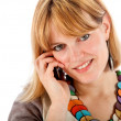 Casual woman on the phone — Stock Photo #7751592