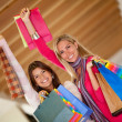 Shopping women — Stock Photo #7751633