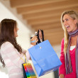 Foto Stock: Shopping women