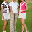 Group of female golf players — Stock Photo #7751696