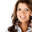 Business woman on the phone — Stock Photo #7751770