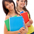 Beautiful female students — Stock Photo #7751796