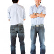 Front and back of a man — Stock Photo #7751910