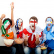 International football fans — Stock Photo #7751998