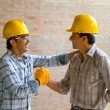 Happy construction workers — Stock Photo #7752206