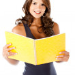 Beautiful female student — Stock Photo #7752251