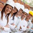 Group of engineers — Stock Photo #7752262