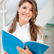 Young business woman — Stock Photo #7752277