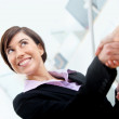 Business handshake — Stock Photo #7752311