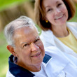 Happy retired couple — Stock Photo