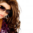 Fashion woman wearing sunglasses — Stock Photo #7752476
