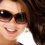Fashion woman wearing sunglasses — Stock Photo #7752478