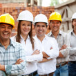 Group of architects and engineers — Stock Photo #7752671