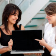 Business women with a laptop — Stock Photo #7752703