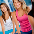 Women at the gym — Stock Photo #7752716