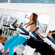 Women at the gym — Stock Photo #7752721