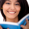 Woman reading a book — Stock Photo #7752736