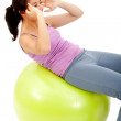 Fit woman exercising — Stock Photo #7752749