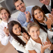 Business group applauding - Stock Photo