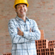 Male engineer portrait — Stock Photo