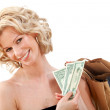 Shopping woman — Stock Photo #7752976