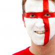 English flag portrait — Stock Photo