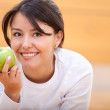 Healthy eating woman — Stock Photo #7753124