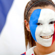 French flag portrait — Stock Photo #7753242