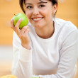 Royalty-Free Stock Photo: Healthy eating woman