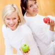 Healthy eating women — Stock Photo #7753325
