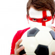 English football fan — Stock Photo #7753403