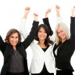 Sucessful business women — Stock Photo