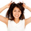 Bad hair day — Stock Photo #7753560