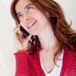 Stock Photo: Woman on the phone