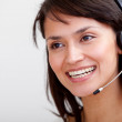 Customer support operator — Stock Photo #7753704