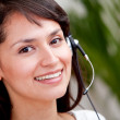 Stockfoto: Customer support operator