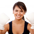 Woman boxing — Stock Photo #7753712