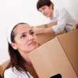 Couple moving — Stock Photo #7753741