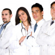 Stock Photo: Team of doctors and nurses