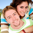 Beautiful couple having fun outdoors — Stock Photo #7753857