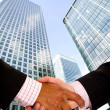Business handshake deal — Stock Photo