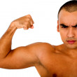 Confident muscular man — Stock Photo