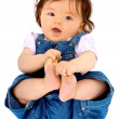 Beautiful happy baby portrait — Stock Photo #7753968
