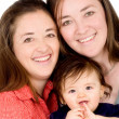 Beautiful happy family — Stock Photo #7754045