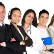 Stock Photo: Business professionals - job recruitment