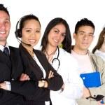 Business professionals - job recruitment — Stock Photo