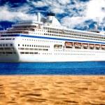 crucero de la playa — Foto de Stock