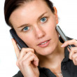 Confident business woman on the phone — Stock Photo #7754177