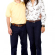 Young couple smiling — Stock Photo #7754243